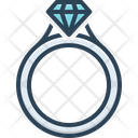 Ring Jewelry Crystal Icon