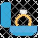Ring Ladies Ring Gold Ring Icon