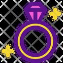 Ring Diamond Ring Icon
