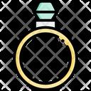 Ring Engagement Diamond Icon