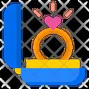 Ring Romance Wedding Icon