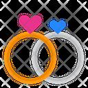 Ring Wedding Valentine Icon