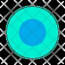 Circle Geometry Ring Icon