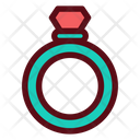 Ring Diamond Icon