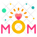Ring Gift Mother Day Icon