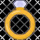 Wedding Ring Ring Ladies Ring Icon