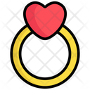 Ring Engagement Love Icon