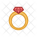 Ring Romance Romantic Icon