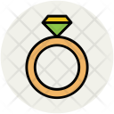 Ring Jewelry Diamond Icon