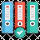 Ring Binder File Binder Files Icon