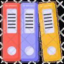 Office Files Binders Ring Binders Icon