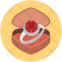 Ring case Icon