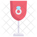 Ring In Glass Icon