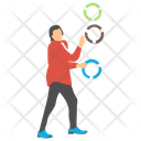 Ring Juggling Icon