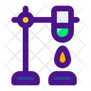 Ring Stand Chemistry Flask Icon