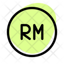 Ringgit Coin Icon