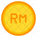 Ringgit Coin Currency Money Icon