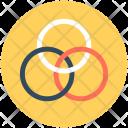 Rings Borromean Circles Icon