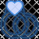 Heart Valentines Day Wedding Icon