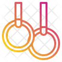 Rings Sport Exercise Icon