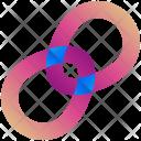 Rings Logogram Shape Icon