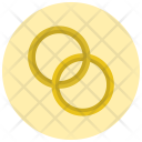 Rings Marriage Icon