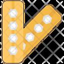 Ring Bandage Injury Bandage Medical Equipment Icon