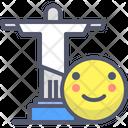 Rio Brazil Christianity Icon
