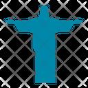 Jesus Statue Rio De Janeiro Icon