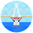 Rion Antirion Antirion Bridge Footbridge Icon