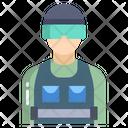 Riot Police Icon