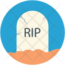 Rip Funeral Death Icon