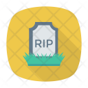 Rip Coffin Tombstone Icon