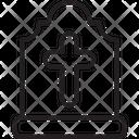 Catholic Grave Death Icon