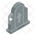 Graveyard Funeral Home Tombstone Icon