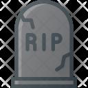 Cemetery Gravestone Grave Icon