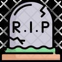 Rip Grave Gravestone Icon
