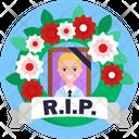 Rip Death Potrait Icon