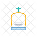Rip Tombstone Casket Icon