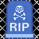 Rip Death Dead Icon