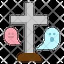 Rip Gravestone Ritual Icon