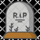 Rip Blood Death Icon
