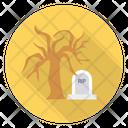 Rip Scare Tree Icon