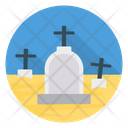 Rip Graveyard Tombstone Icon