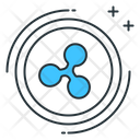 Ripple Altcoin Cryptocurrency Icon