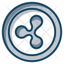 Ripple Coins Currency Coin Icon