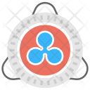 Ripple Currency Exchange Icon