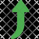 Rise arrow Icon
