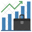 Rise Business Graph Icon