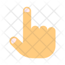 Finger Up Rise Icon